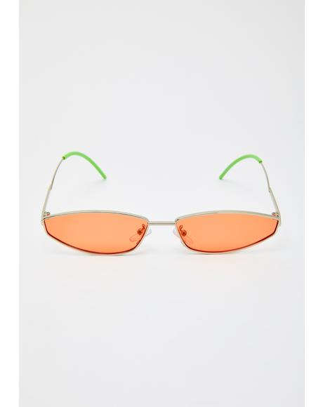 Juicy Luxe Dimension Tiny Sunglasses