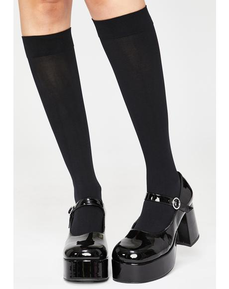 Wicked Walkin' On Clouds Knee Highs