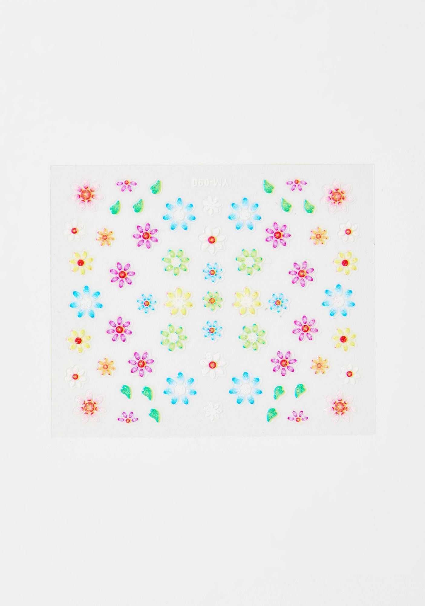 Fairy Flora Face Stickers