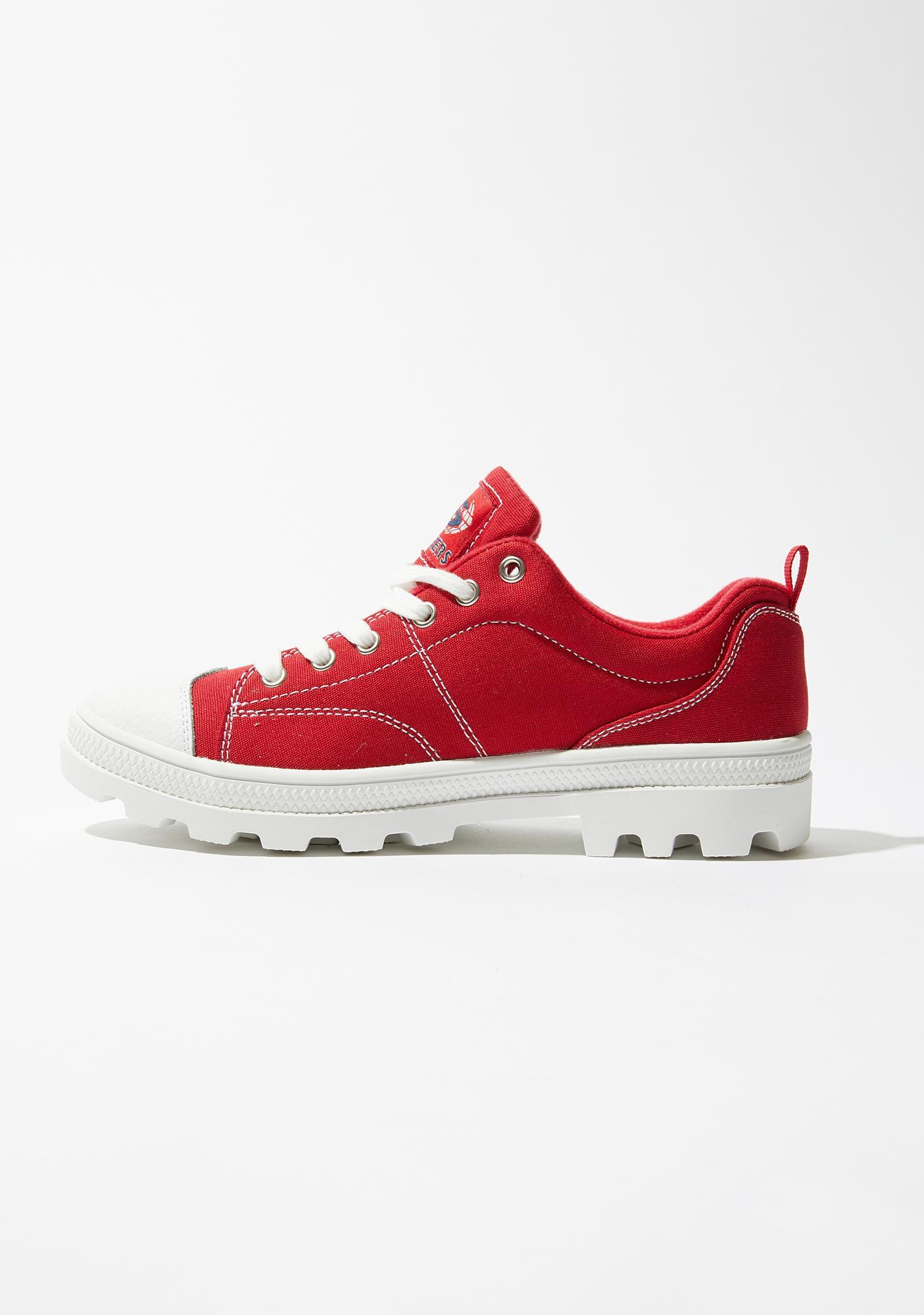 Skechers Red Roadies True Roots Sneakers
