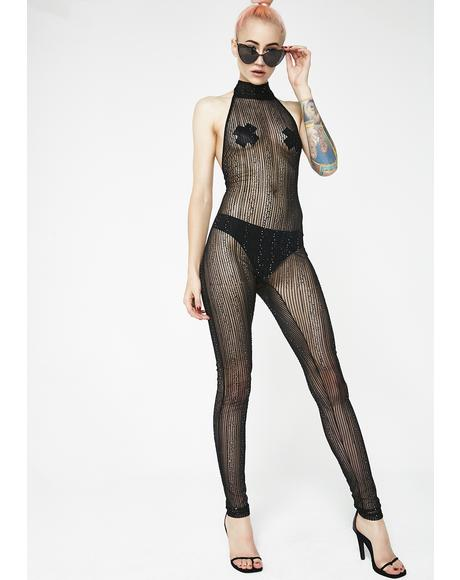 Digital Lover Sheer Catsuit