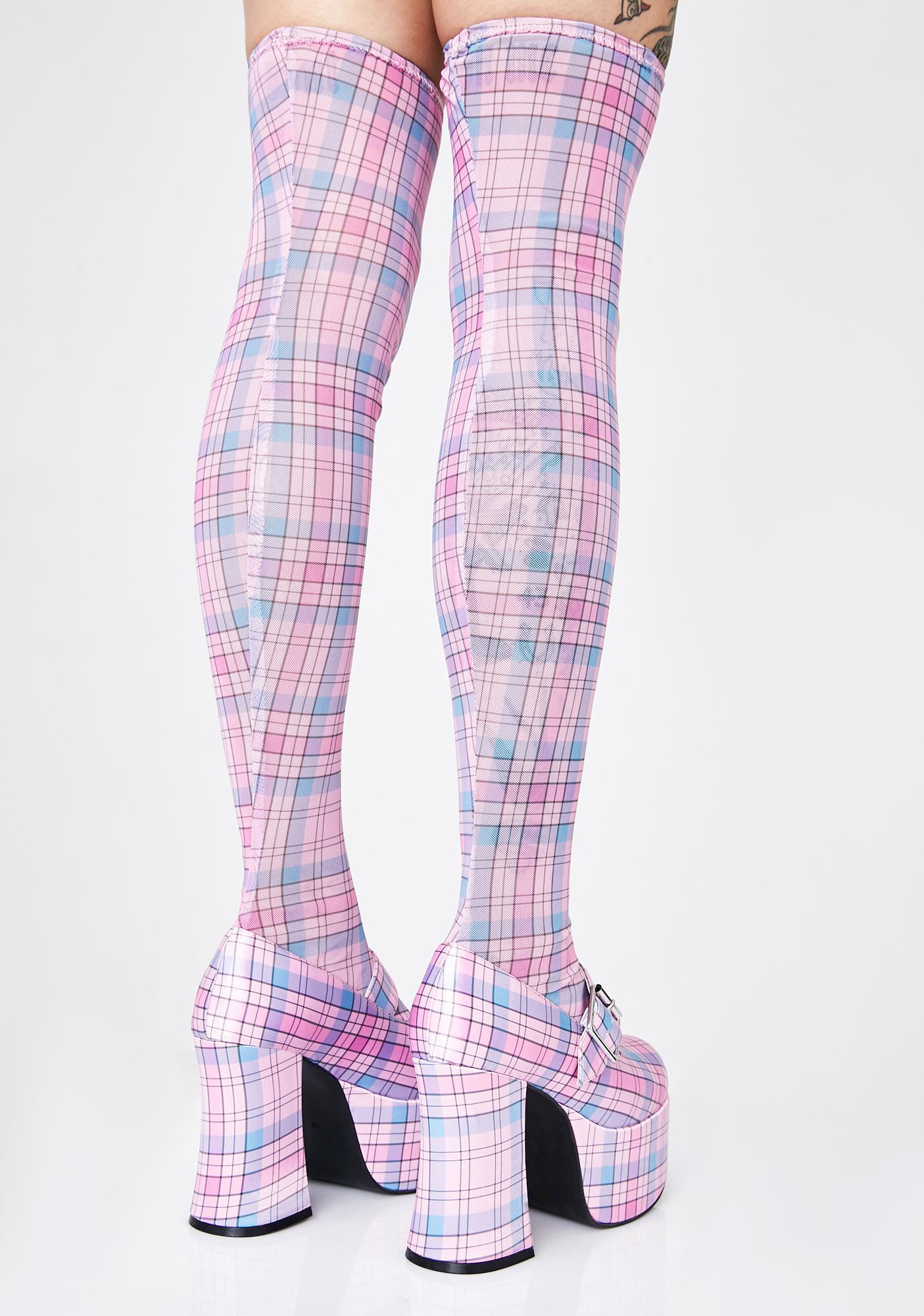 Sugar Thrillz Trust Fund Fairy Mary Jane Boots