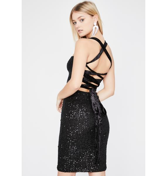 Glamour Shot Sequin Dress