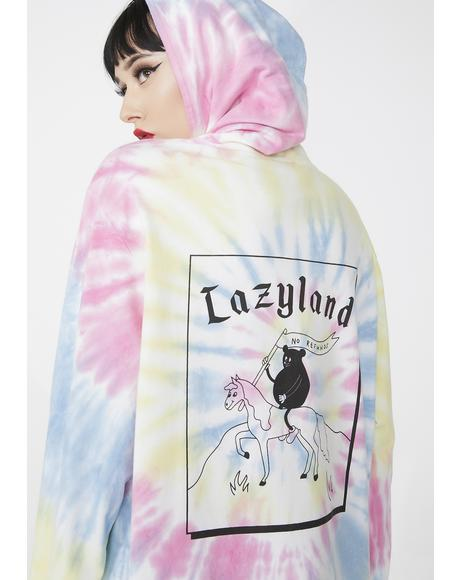 Lazyland Tie Dye Long Sleeve T- Shirt