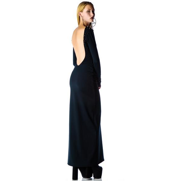 Black Wednesday The Morticia Dress