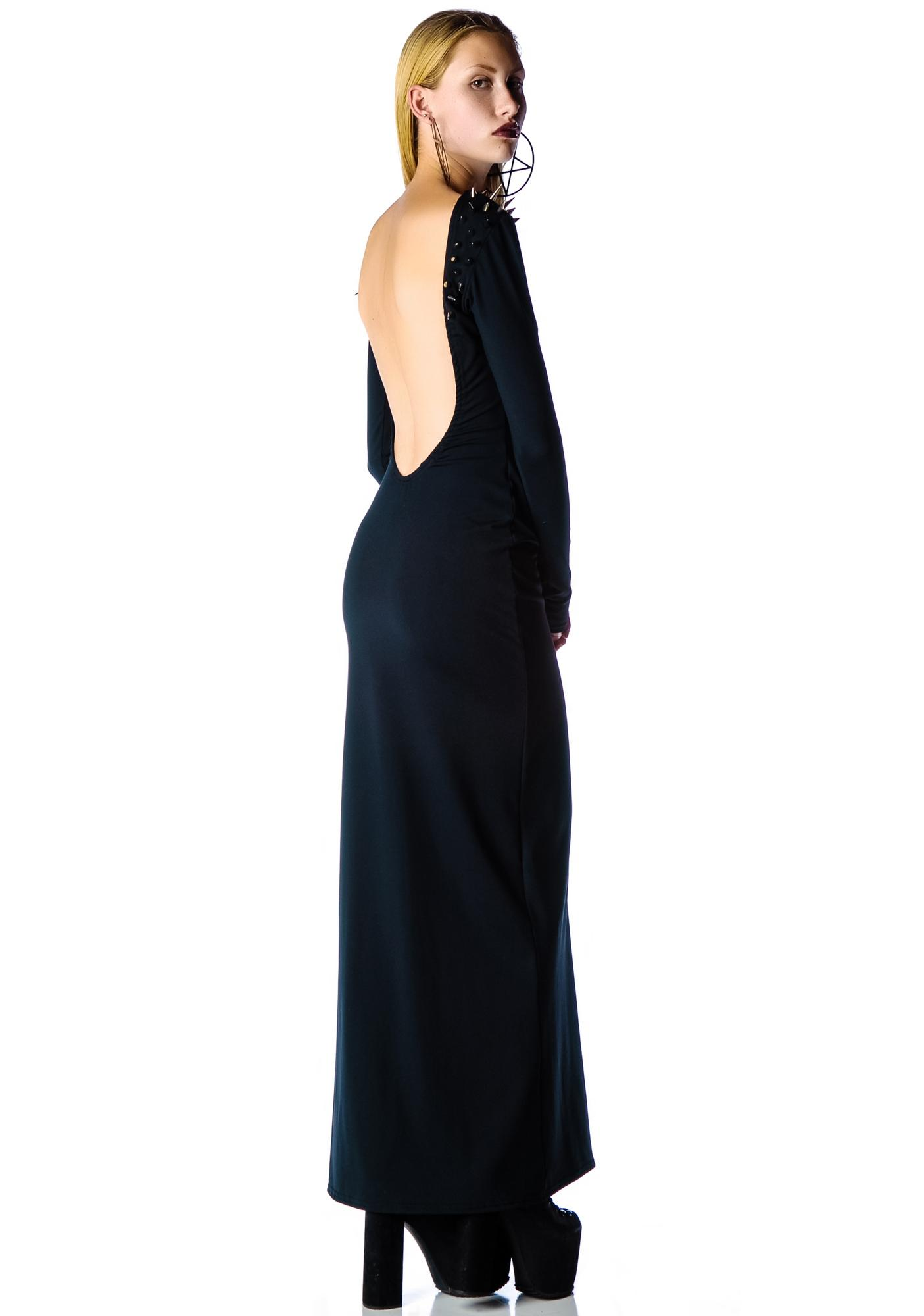 Black Wednesday The Morticia Dress