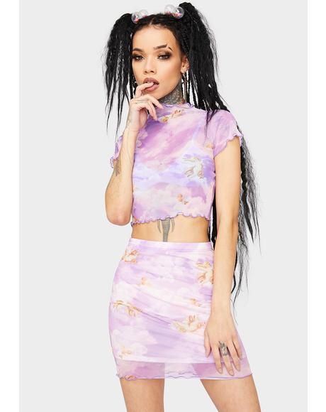Earn My Wings Skirt Set