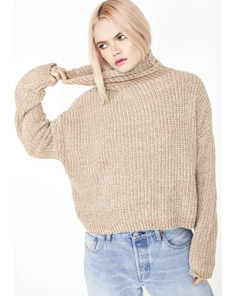 Mocha Knit Sweater