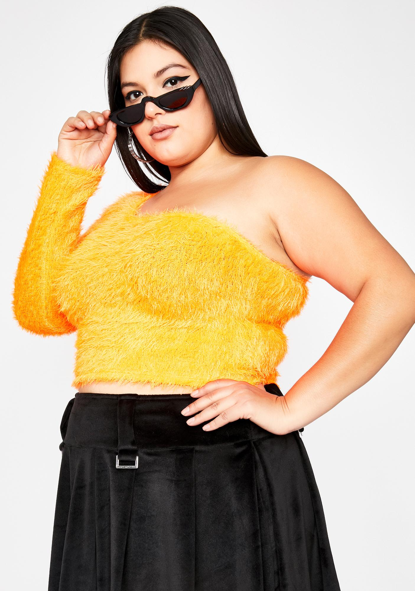 Vivid Total Daring Diva Fuzzy Top