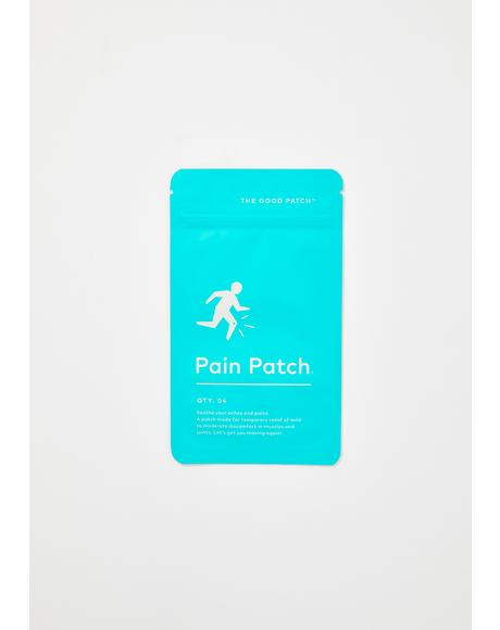 Pain Plant-Infused Patches