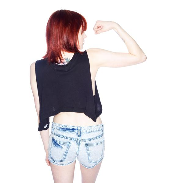 Wildfox Couture Howdy Cropped Tank