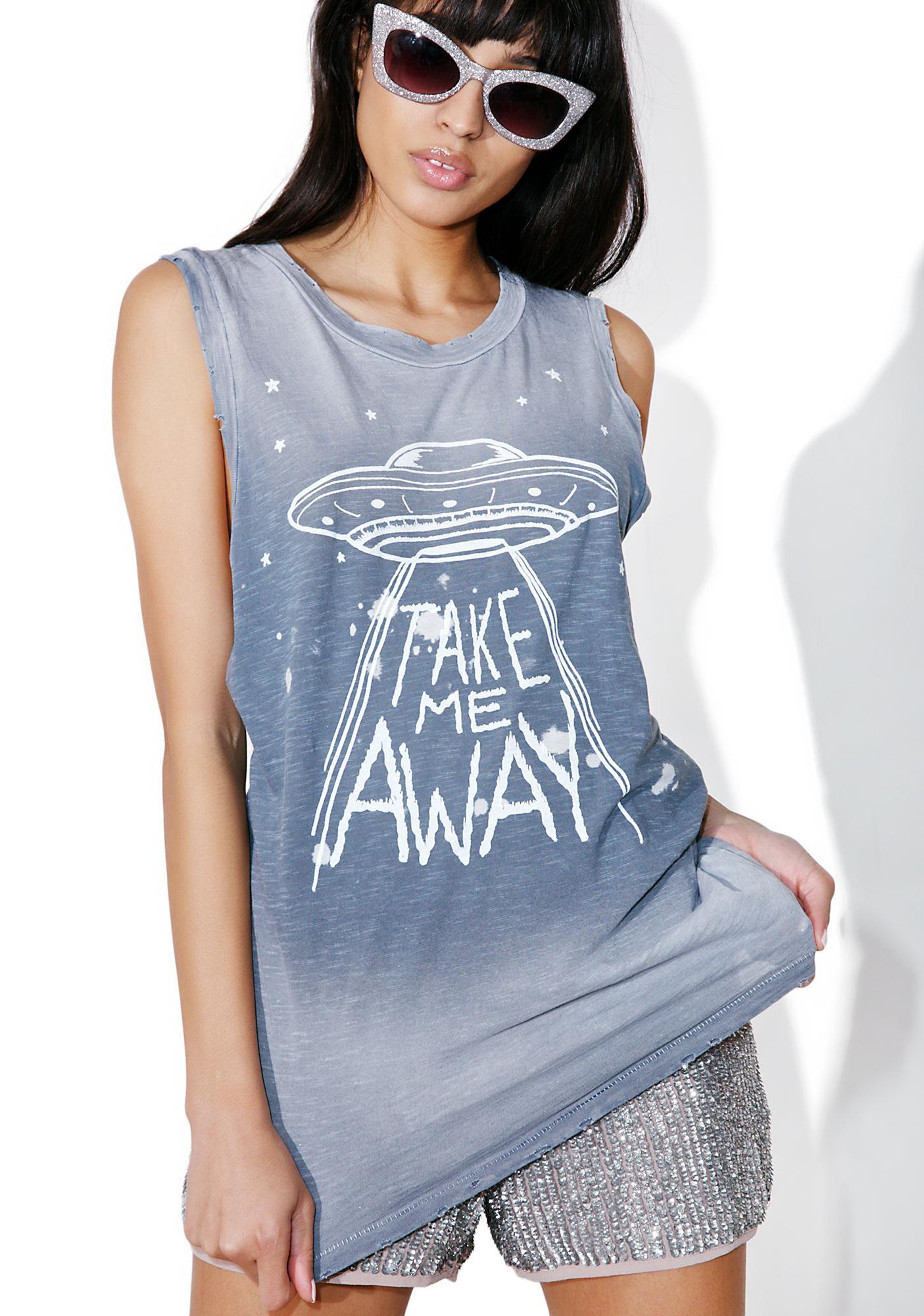 Junk Food Clothing Take Me Away Tank