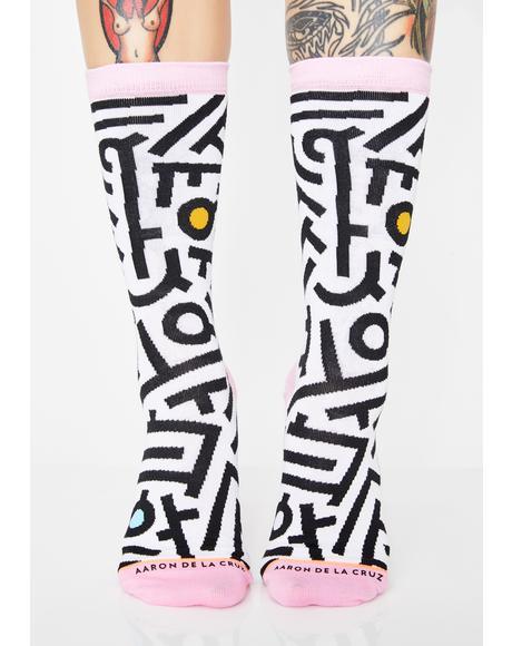 Aaron De La Cruz Socks