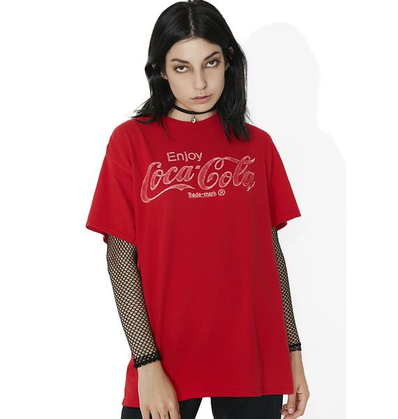 Junk Food Clothing Coca Cola Graphic Tee
