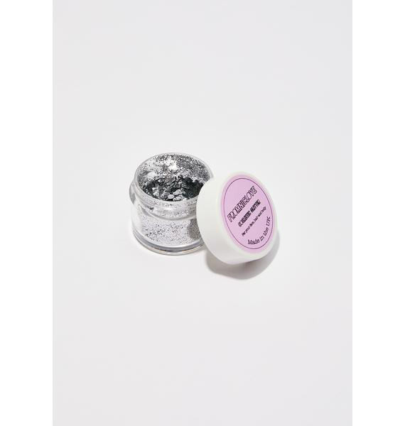 FromNicLove Chunky Silver Cosmetic Face Glitter