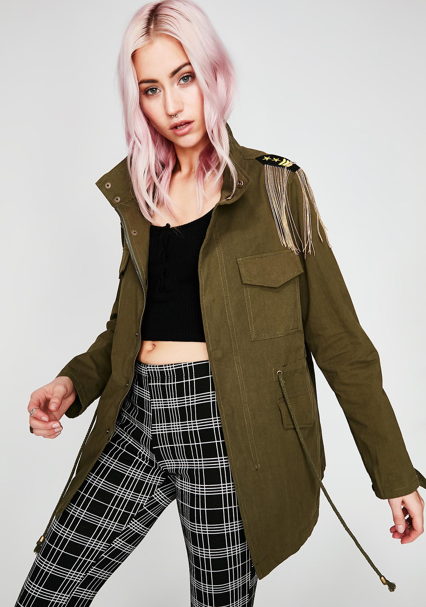 Olive Next Rank Army Jacket