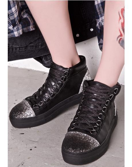 Adisa Sparkly Sneakers