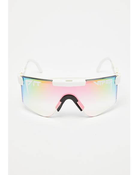 The Miami Nights Iridescent Sunglasses