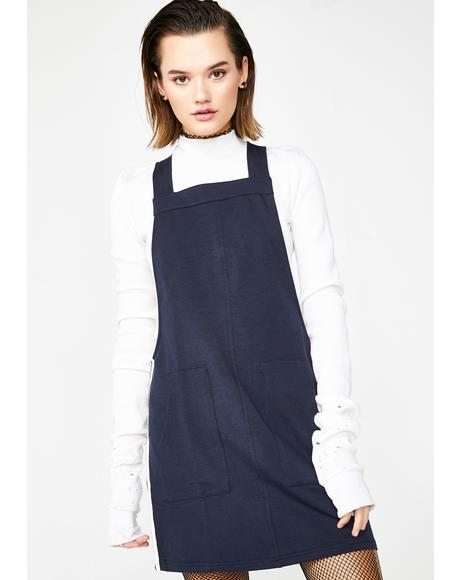 Sporty Side Overall Dress