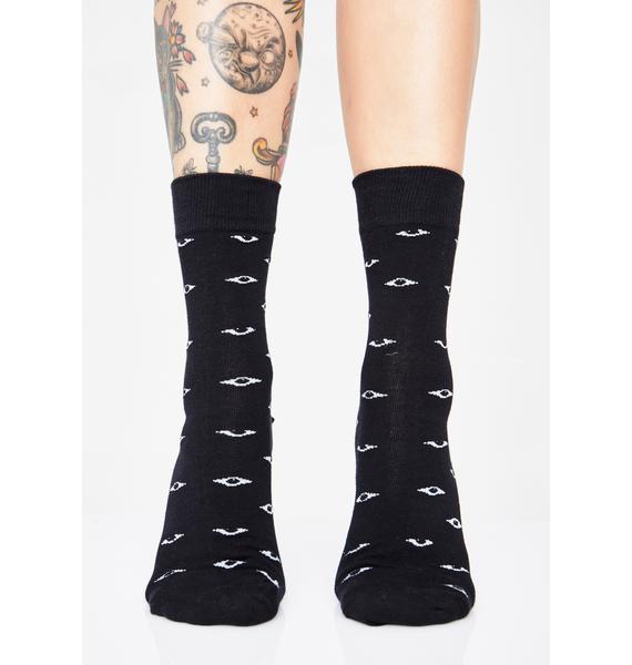 Eye See U Crew Socks