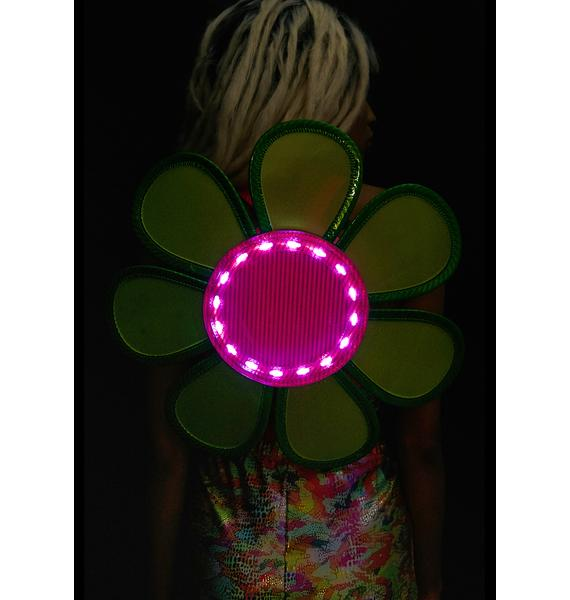 Club Exx Night Bloomz Light-Up Mini Backpack