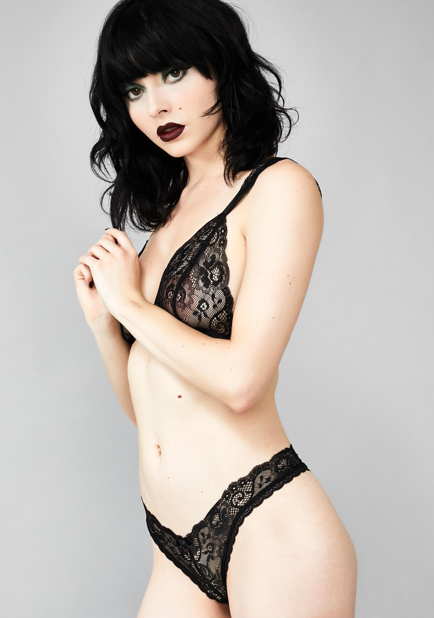 Widow Mournful Mistress Lace Panties