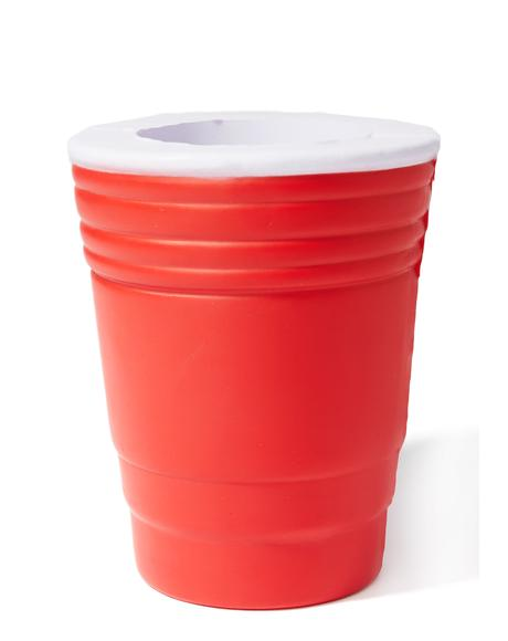 Cheers To That Red Cup Drink Koozie