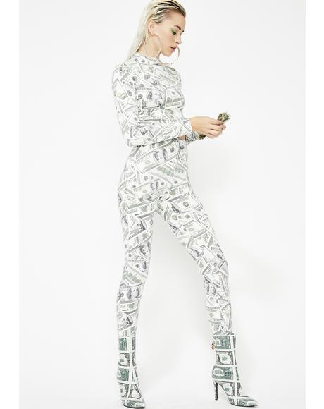 Mad Money Legging Set