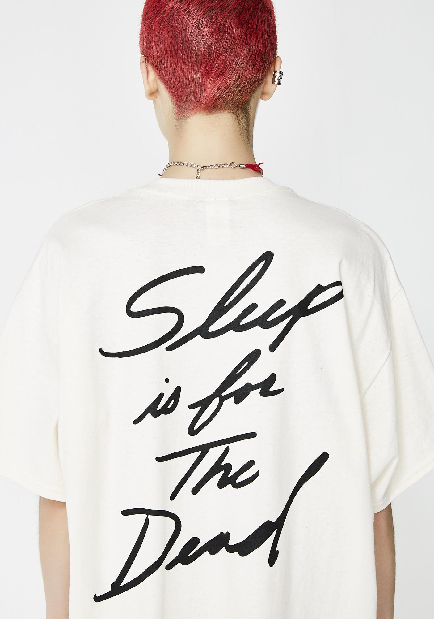 No Hours Sleep Short Sleeve Tee