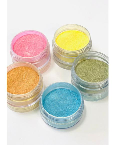 Prismatic Pastel Eye Pigments Set