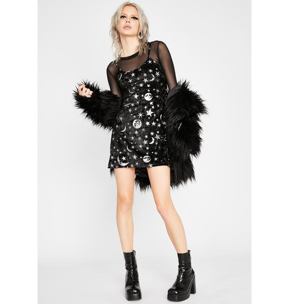 HOROSCOPEZ Cosmic Couture Mini Dress