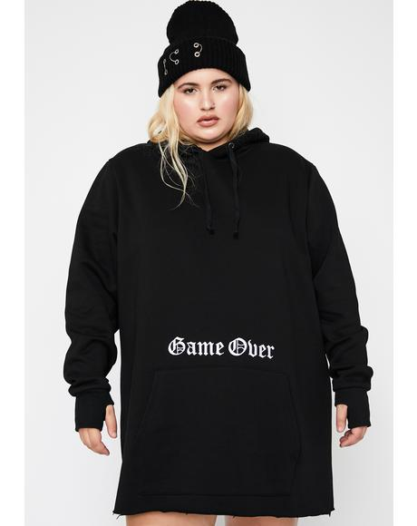 Lux Game Over Hoodie