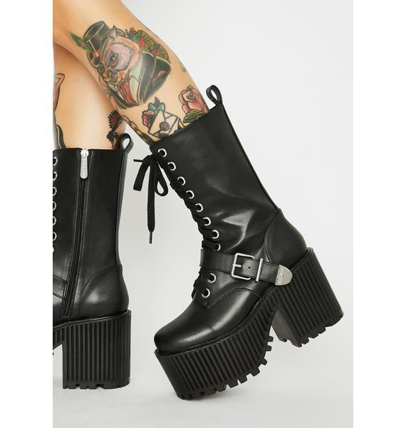 Killstar Slay Her Platform Boots