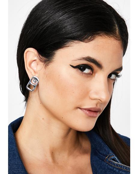 Get Fizzy Soda Tab Earrings