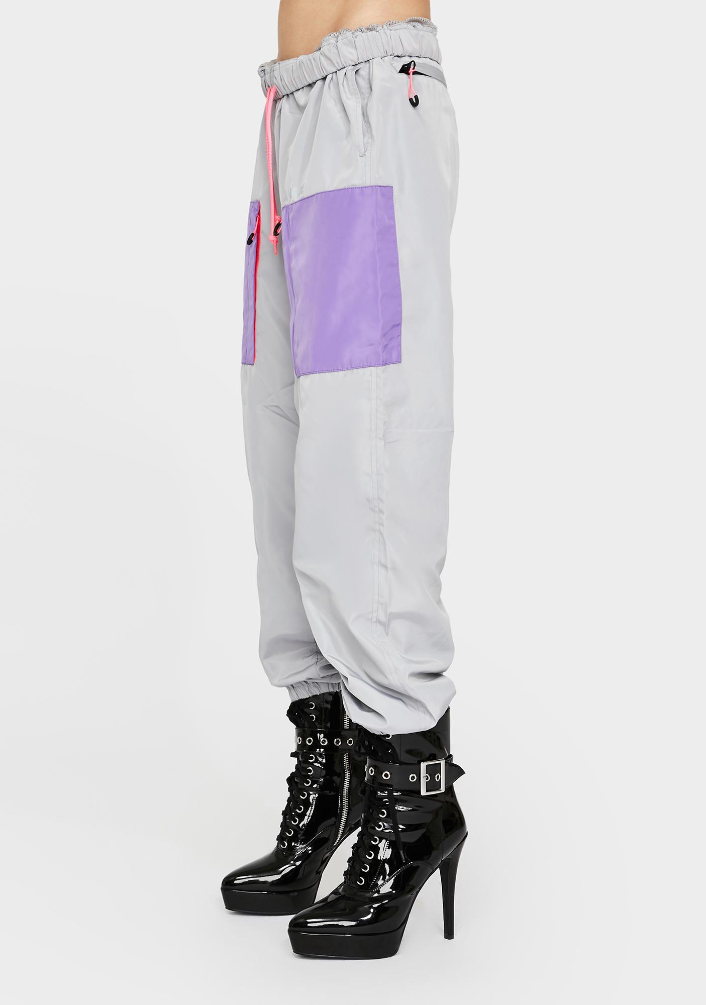 XLARGE Silver Track Pants