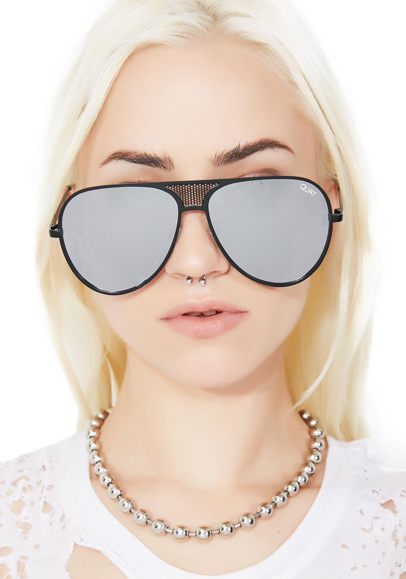 Quay Eyeware x Kylie Midnight Iconic Sunnies