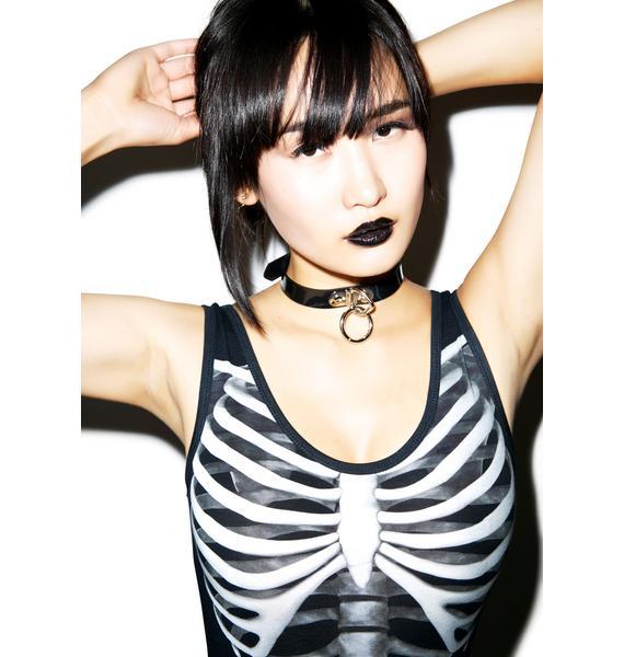 Killstar Skeletor Bodysuit