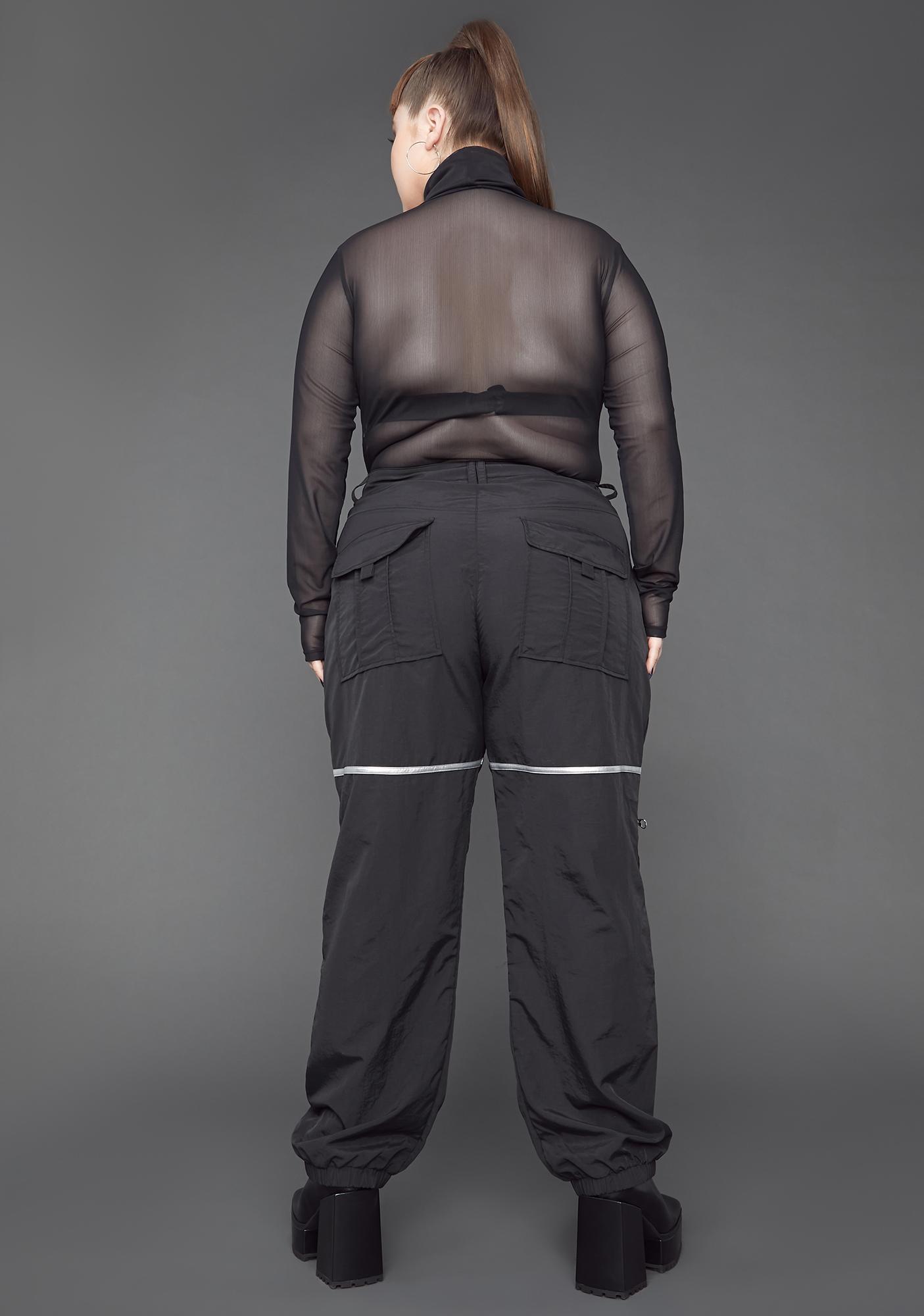 Poster Grl You Make 'Em Sweat Nylon Cargo Pants