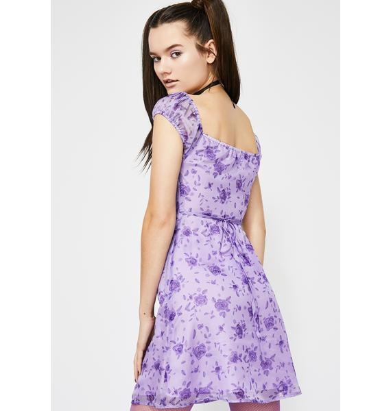 HOROSCOPEZ Spring Element Floral Dress