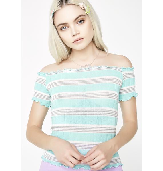 Mint Condition Stripe Top