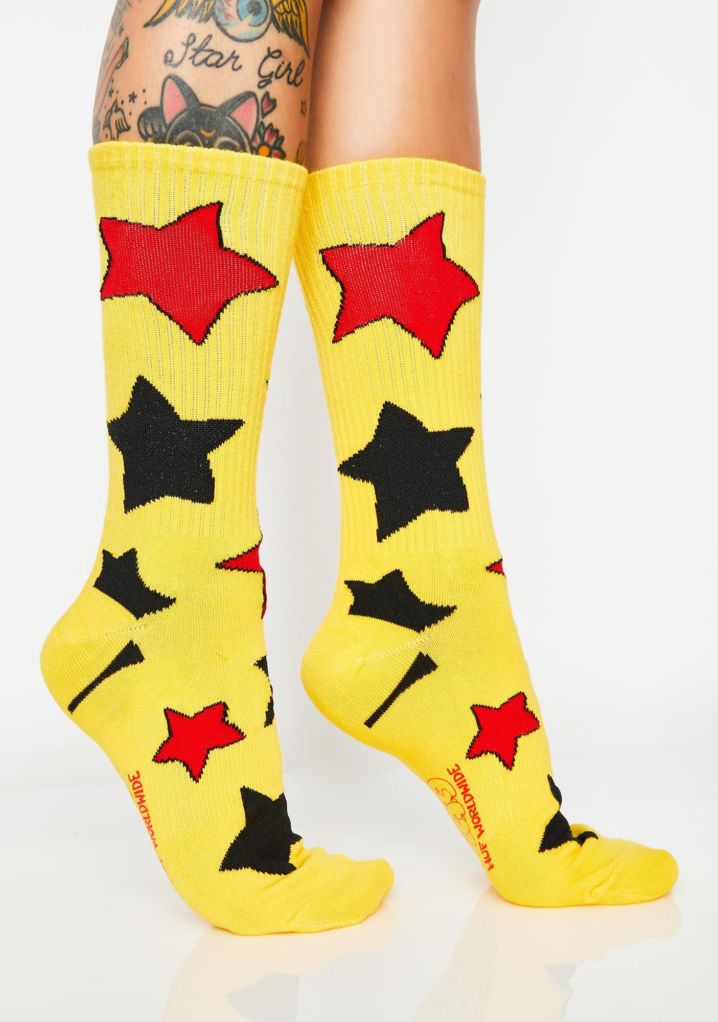 Huf Bode Cheech Wizard Socks Dolls Kill