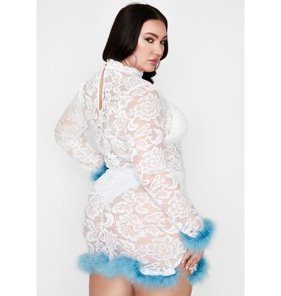 Iced Pretty Haute Hussy Mini Dress