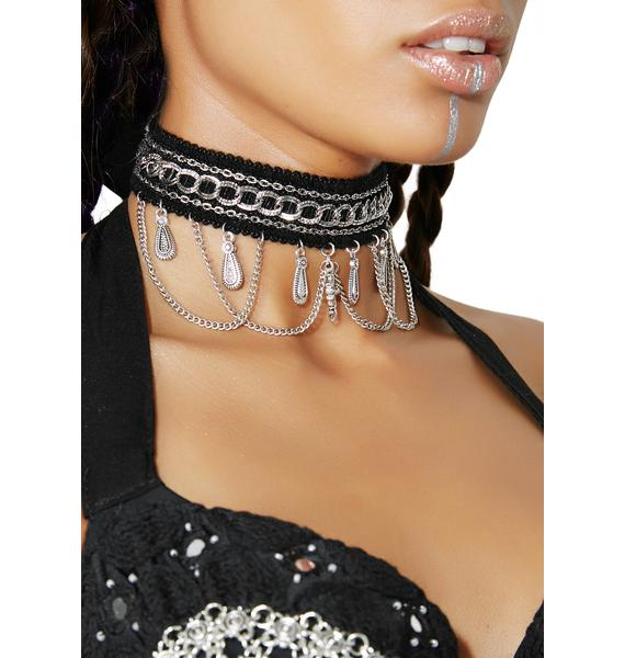 Royal Rebel Chain Choker