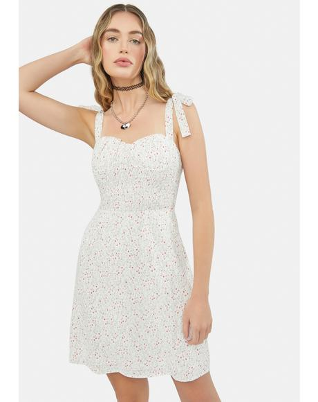 Quartz Sunshine In Spring Floral Sundress