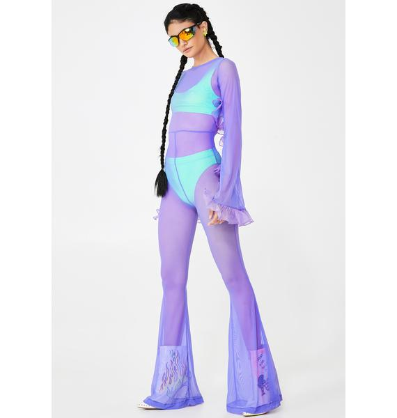Willows Call Violette Frou Frou Jumpsuit