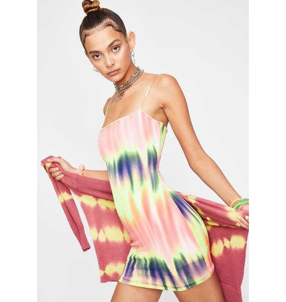 Melt With You Tie Dye Dress