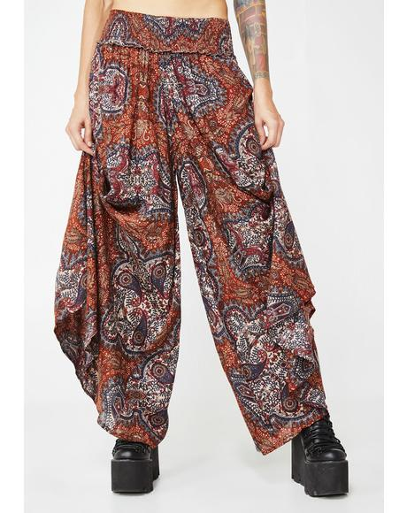 Third Eye Wide Leg Pants