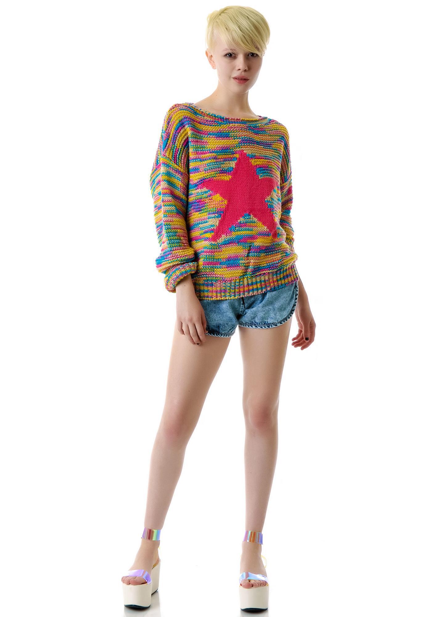 Starstruck By Rainbows Sweater