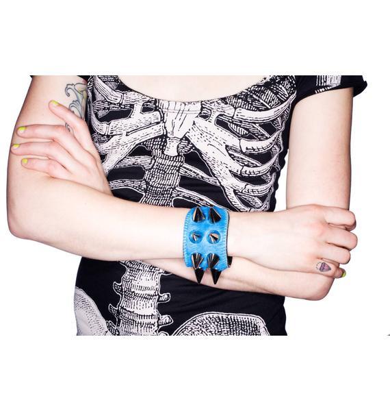 Alessia Double Silver Bracelet