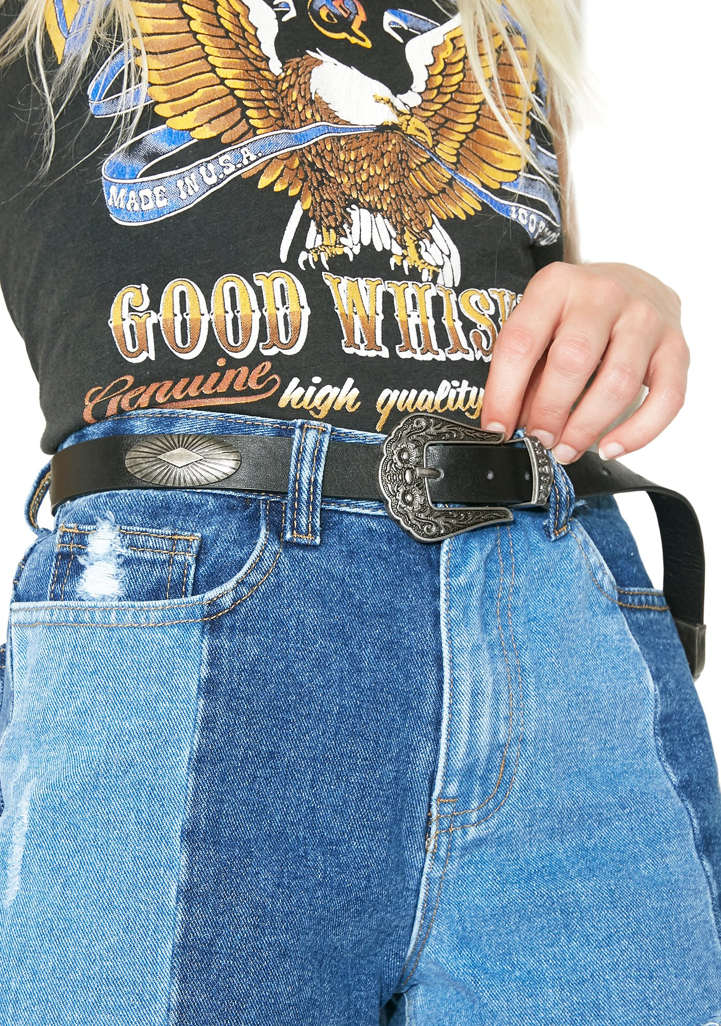 Along For The Ride Concho Belt